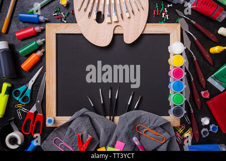 Back to school education concept with space for your text - Stock Image