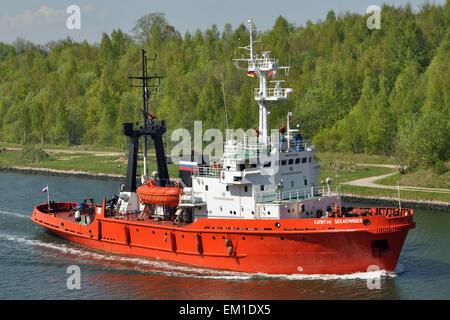 Russian Tug Kapitan Beklemishev - Stock Image