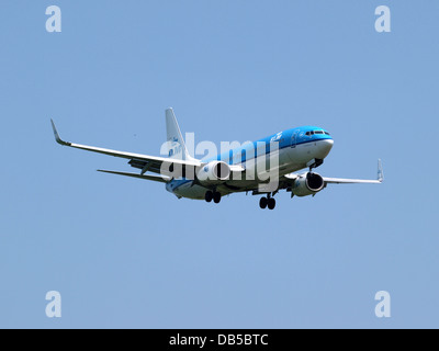 PH-BXK KLM Royal Dutch Airlines Boeing 737-8K2(WL) - cn 29598 2 - Stock Image