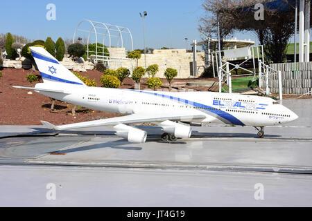 mini airplane - Stock Image