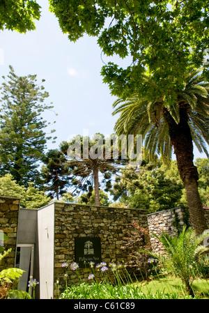 The exterior of the Palheiro Spa facility at Casa Velho do Palheiro Country House Hotel on Madeira Island, Portugal - Stock Image
