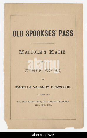 Oldspooksespass - Stock Image