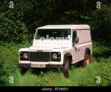 1997 Land Rover Defender - Stock Image