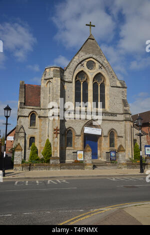 United Reformed Church, Rother Street, Stratford upon Avon, Warwickshire - Stock Image