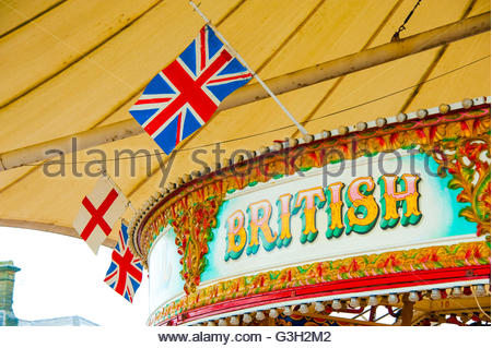 Southport, Lancashire, UK 24th June 2016. On the day Britain's votes were counted and the result of the vote - Stock Image