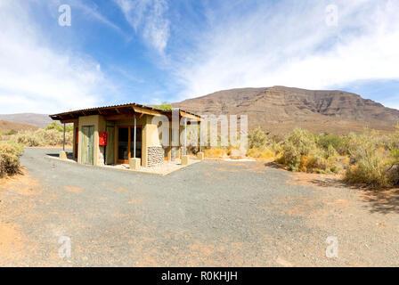 The Perdekloof Campsite, Tankwa Karoo National Park - Stock Image