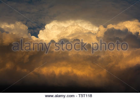 Games of Clouds - Stock Image