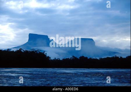 Tepuis Devils Canyon Orinoco Basin Venezuela - Stock Image