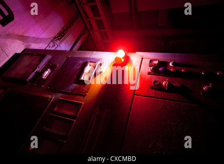 Red alert - Stock Image