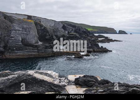 Coastline of West Cork - Ireland - Stock Image