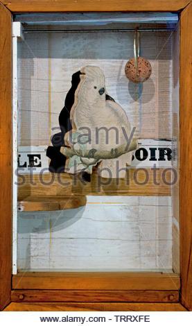 Juan Gris No 4 by Joseph Cornell, born 1903 American, United, States, of, America, USA, - Stock Image