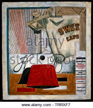 Sweet Caporal 1922 by Stuart Davis, American, United, States, of, America, USA, - Stock Image