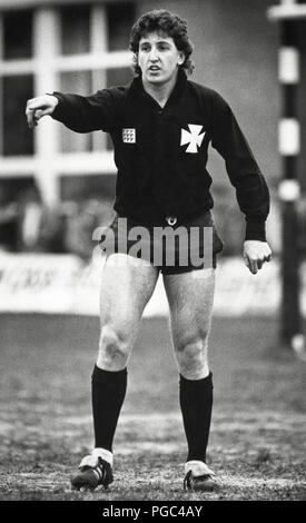 Jonathan Davies rugby player with Neath RFC & Wales international pictured in 1987 - Stock Image