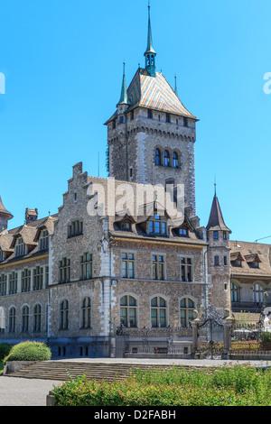 Swiss country museum in Zurich, Switzerland - Stock Image