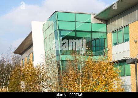 The Vitrum building St John's Innovation Park Cambridge England 2018 - Stock Image