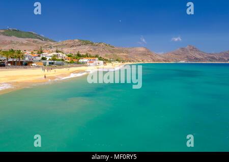 Porto Santo beach - Stock Image