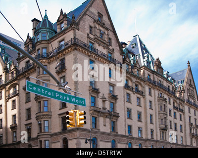 The Dakota Central Park West New York City - Stock Image