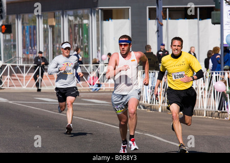 Trio of Finishers - Stock Image