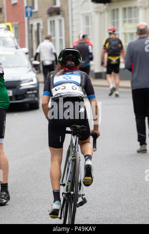 Omer Shapira Israeli women's national road race champion - Stock Image