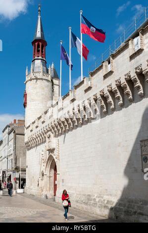 France, Charente Maritime, La Rochelle, City Hall - Stock Image