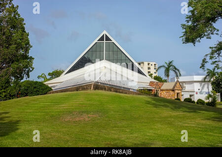 Christ Church Cathedral in Darwin, Northern Territory, Australia. - Stock Image