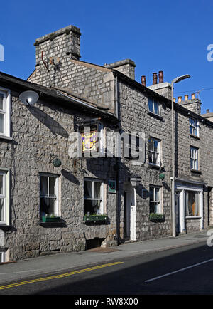 The Oddfellows Arms. Burneside Road, Kendal, Cumbria, England, United Kingdom, Europe. - Stock Image