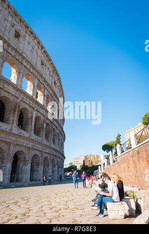 Colosseum, Rome, Italy, Europe - Stock Image