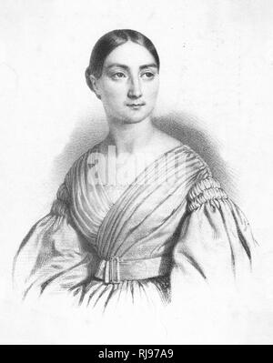 Mademoiselle Cornélie Falcon (1814-1897), French opera singer. - Stock Image