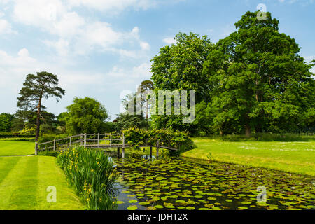 Hever Gardens, Hever Castle & Gardens, Hever, Edenbridge, Kent, England, United Kingdom - Stock Image