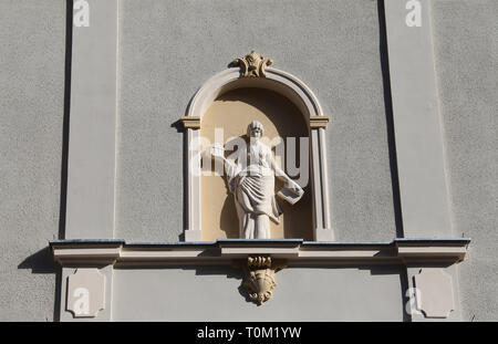 Building decoration at Sopot in Poland - Stock Image