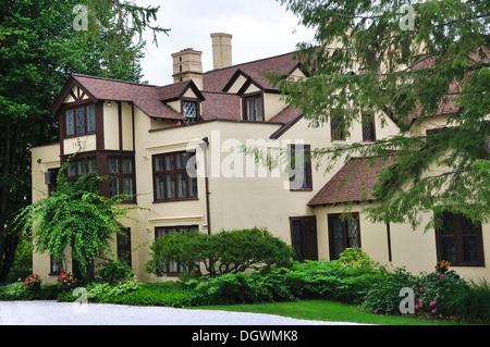 Seven Hills Inn, Lenox, Massachusetts, USA - Stock Image