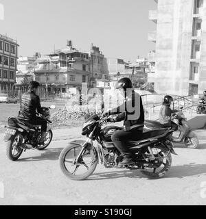 Driving school, Kathmandu, 2017 - Stock Image