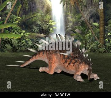 dinosaur Kentrosaurus - Stock Image