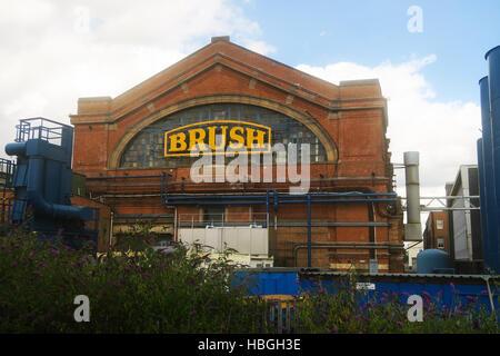 The Brush engineering works in Loughborough, UK - Stock Image