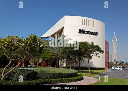 Microsoft Office in Dubai , Internet City , United Arab Emirates - Stock Image