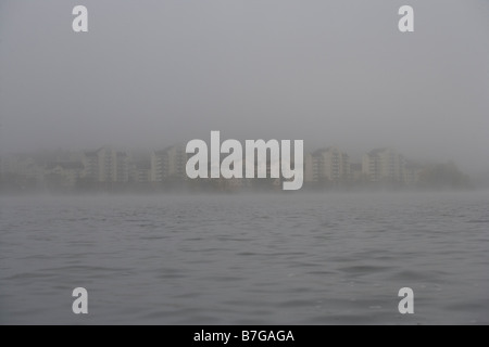 stockholm by the sea - Stock Image
