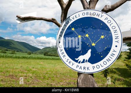 Poloniny National Park, Dark Sky area, Slovakia - Stock Image