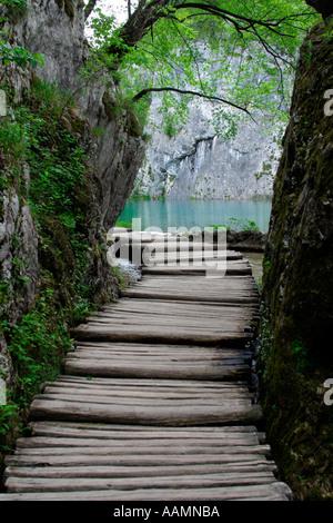Plitvice Lakes National Park Croatia Hrvatska - Stock Image