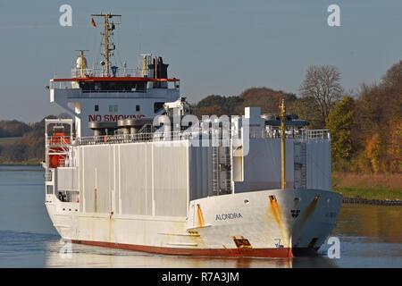 Livestock Carrier Alondra - Stock Image
