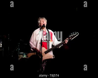 Bass player Martin Turner ex Wishbone Ash - Stock Image