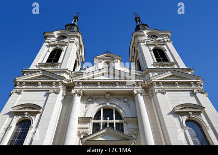 Cathedral of St Nicholas, Sremski Karlovci, Serbia - Stock Image