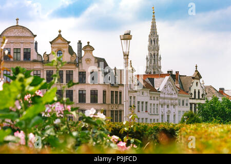 Brussels City Hall in Brussels, Belgium - Stock Image
