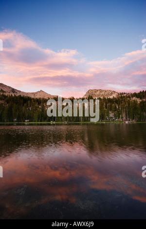 Grouse Lake, Desolation Wilderness Area, California, USA - Stock Image