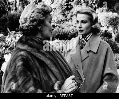 Grace Kelly, Princess of Monaco, right. - Stock Image