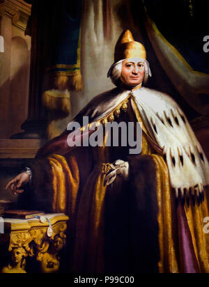 Doge Paolo Renier  1710 – 1789  Venice was a Venetian statesman, the 119th, and penultimate, Doge of Venice. He was an orator and tactician, and served as ambassador to Constantinople and to Vienna. By Ludovico Gallina 1752 - 1787  Italy Italian - Stock Image