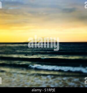 Seychelles beau Valon seascape - Stock Image