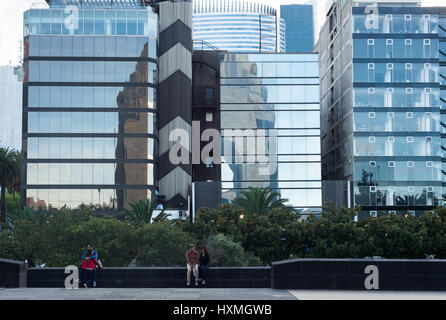 Contemporary achitecture, Mexico City, December 2016. - Stock Image
