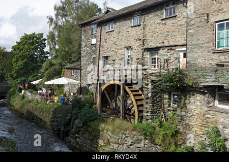 The Old Mill Ambleside. - Stock Image