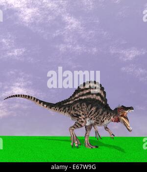 Dinosaurier Spinosaurus / dinosaur Spinosaurus - Stock Image