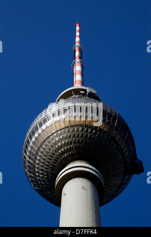 Europe, Germany, Germany, Berlin, Ostberlin, television tower - Stock Image
